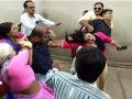 જામનગરમાં  સસ્પેન્ડ પોલીસ પુત્રએ  પિયર રહેલી પત્નીને જાહેરમાં  માર માર્યો
