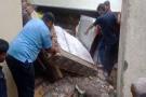 જામનગરમાં બે માળનું મકાન ધરાશાયી, 1નું મોત, 4 નો બચાવ