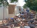 DPS સ્કુલના કેમ્પસમાં આવેલ નિત્યાનંદ આશ્રમને તોડી પાડવામાં આવ્યો